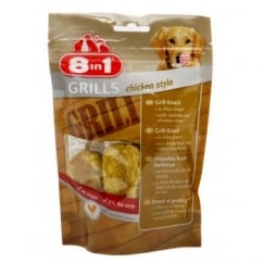 8 in 1 Grills Chicken Style Dog Treat 80gm