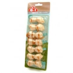 Meaty Middles Dental Delight Dog Bone - X Small