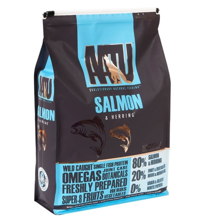 Aatu 80/20 Natural Dog Food Salmon & Herring 5kg
