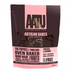 Artisan Bakes Chicken & Salmon Puppy Dog Treats 150g