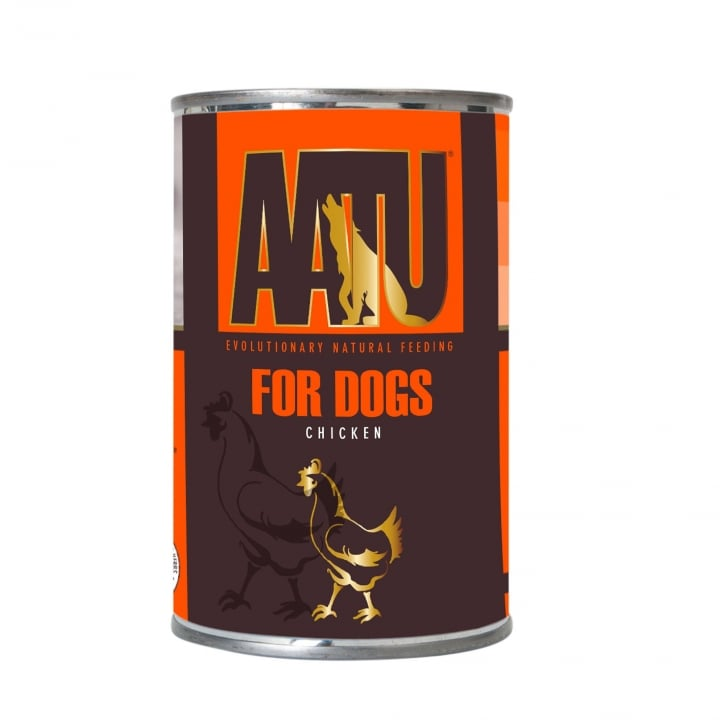 Aatu For Dogs Chicken Adult Wet Dog Food 6 x 400g