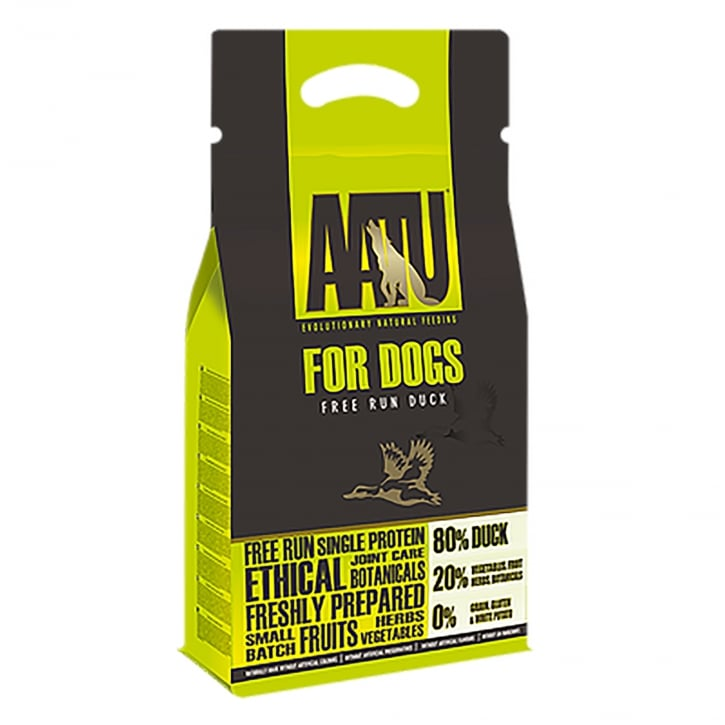 Aatu Free Run Duck 80/20 Adult Dog Food 1.5kg