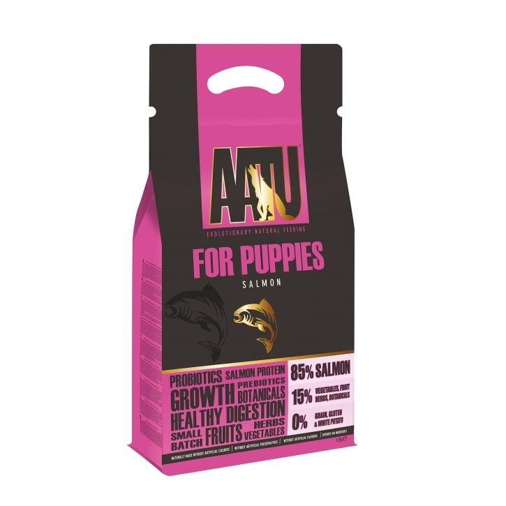Aatu Salmon 85/15 Puppy Dog Food 1.5kg