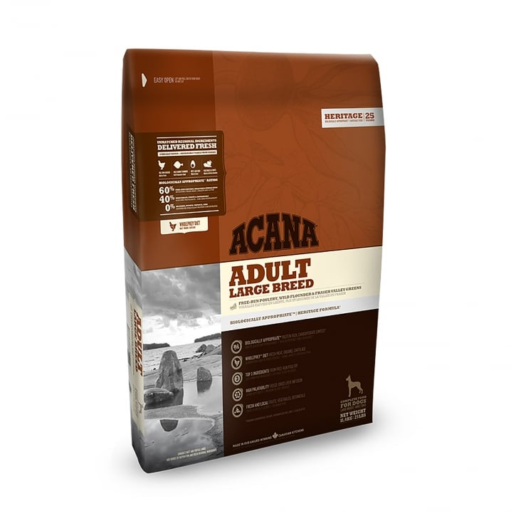 Acana Heritage Large Breed Adult Dog Food 11.4kg