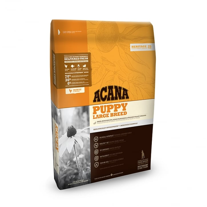Acana Heritage Large Breed Puppy Dog Food 11.4kg