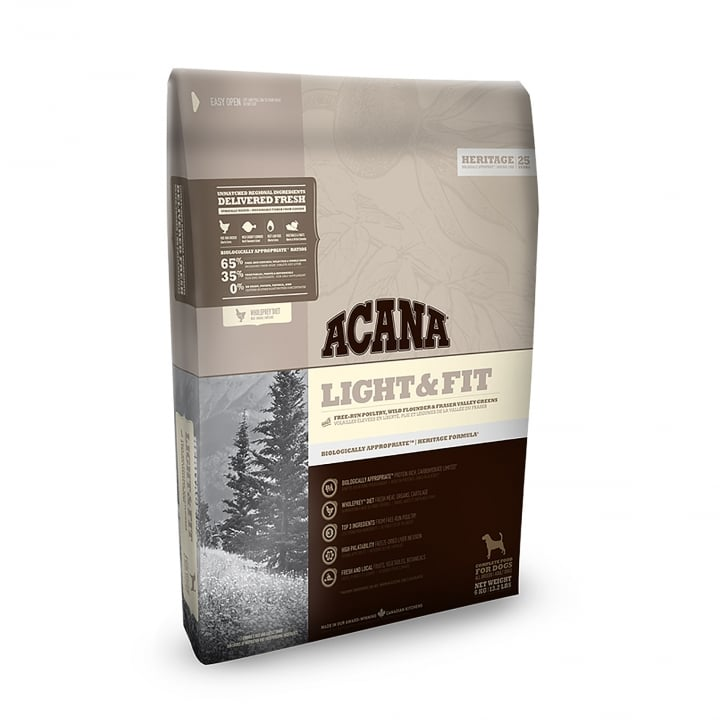Acana Heritage Light & Fit Adult Dog Food 11.4kg