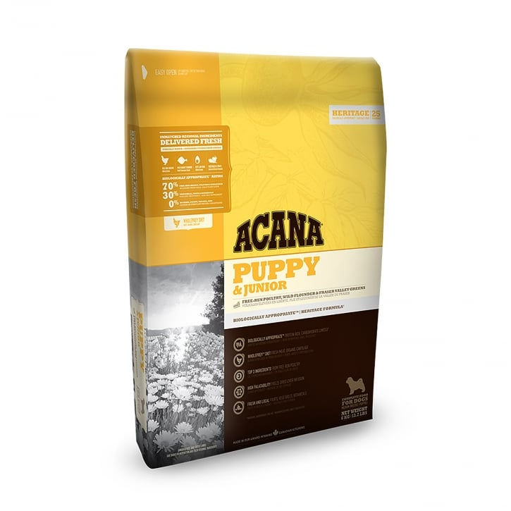 Acana Heritage Puppy & Junior Dog Food 6kg