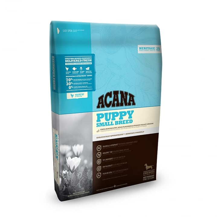 Acana Heritage Puppy Small Breed Dog Food 6kg