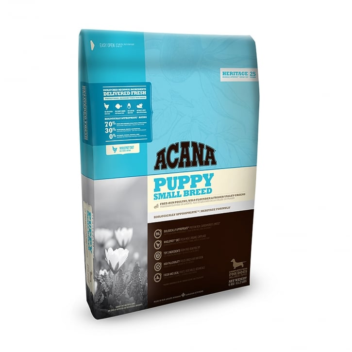 Acana Heritage Small Breed Puppy Dog Food 2kg