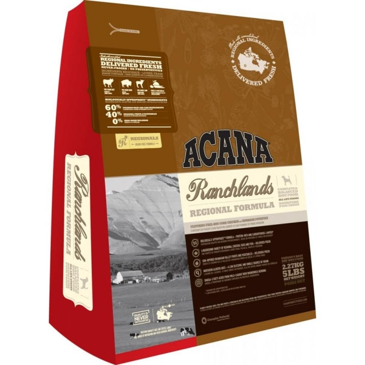 Acana Ranchlands For Dogs of All Breeds and Sizes 6.8kg