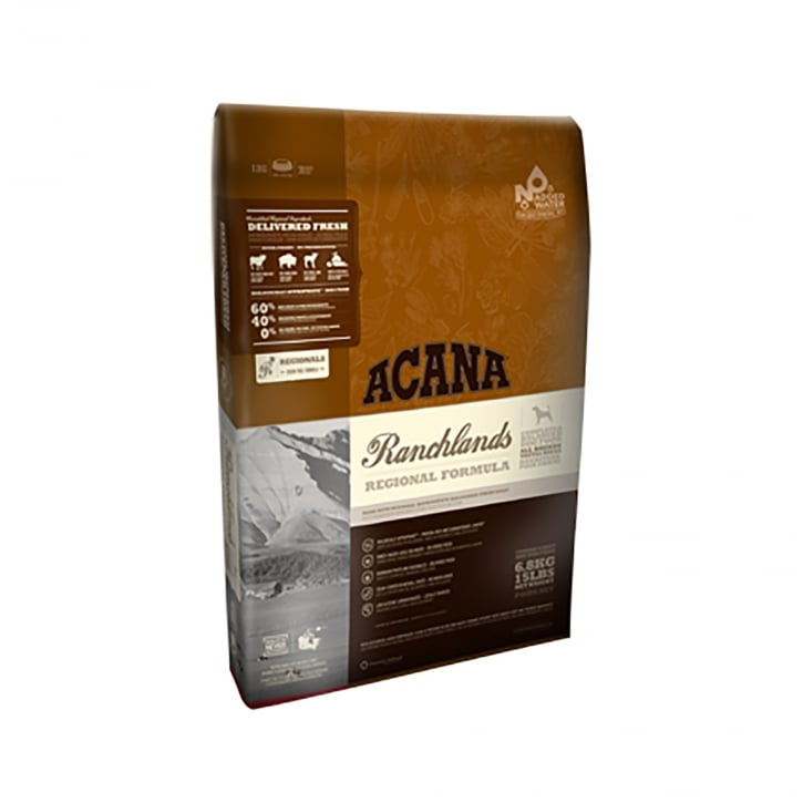 Acana Regionals Ranchlands Adult Dog Food 11.4kg