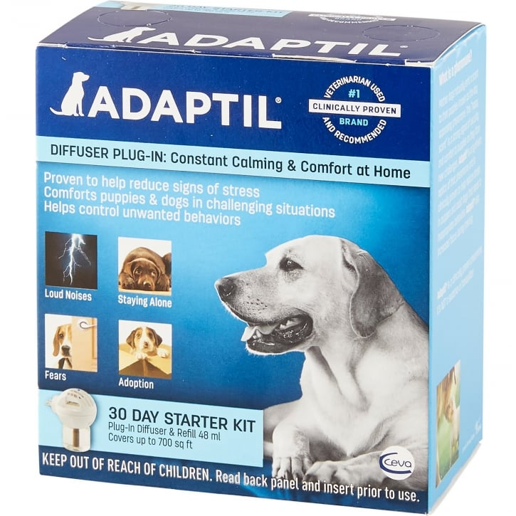 Adaptil 30 Day Starter Kit Diffuser & Refill 48ml