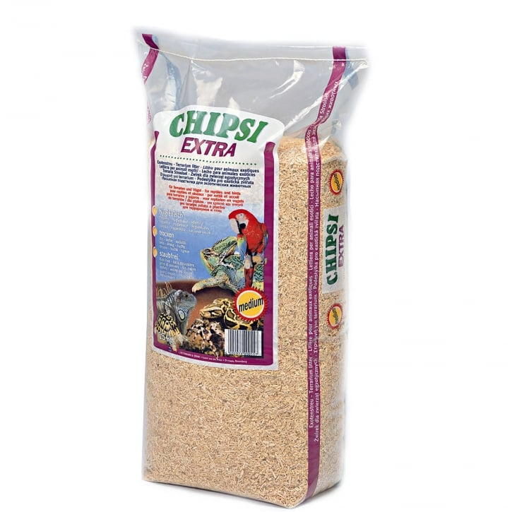 Ajm Pet Chipsi Extra Beech Wood Medium 15kg