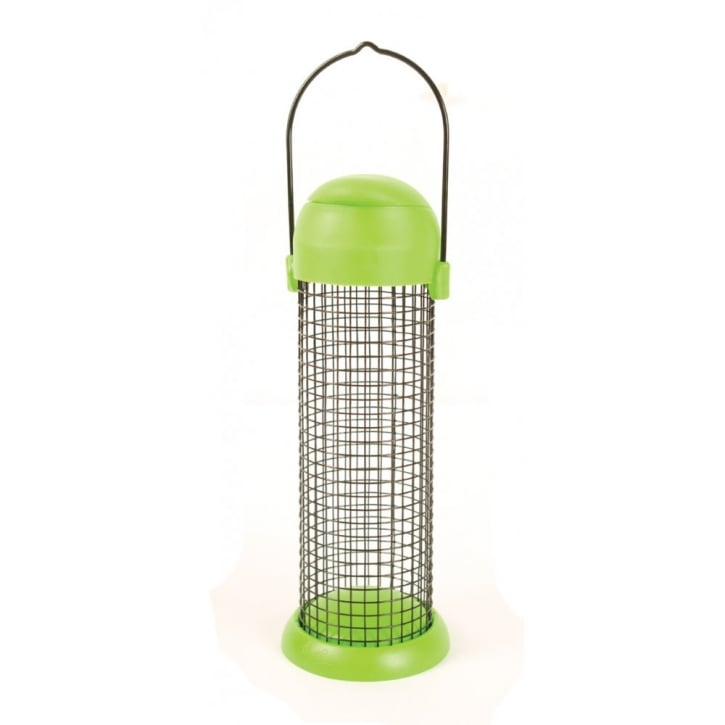 Alan Titchmarsh Plastic Flip Top Peanut Feeder 28cm