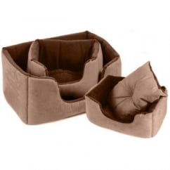 Comfy Bed Chelsea Chocolate 99x71cm