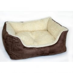 "Cosipet Ltd Kalahari Bed Chelsea Brown 46cm (18"")"