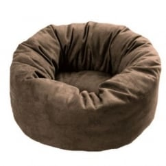 Cosipet Donut Chelsea Dog Bed Chocolate 20""