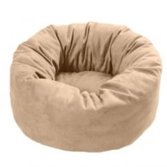 Cosipet Donut Chelsea Dog Bed Tan 20""