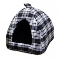 Cosipet Igloo Glen Tartan Black/White 16""