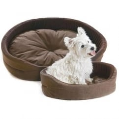 Cosipet Superbed Chelsea Chocolate Dog Bed 18""