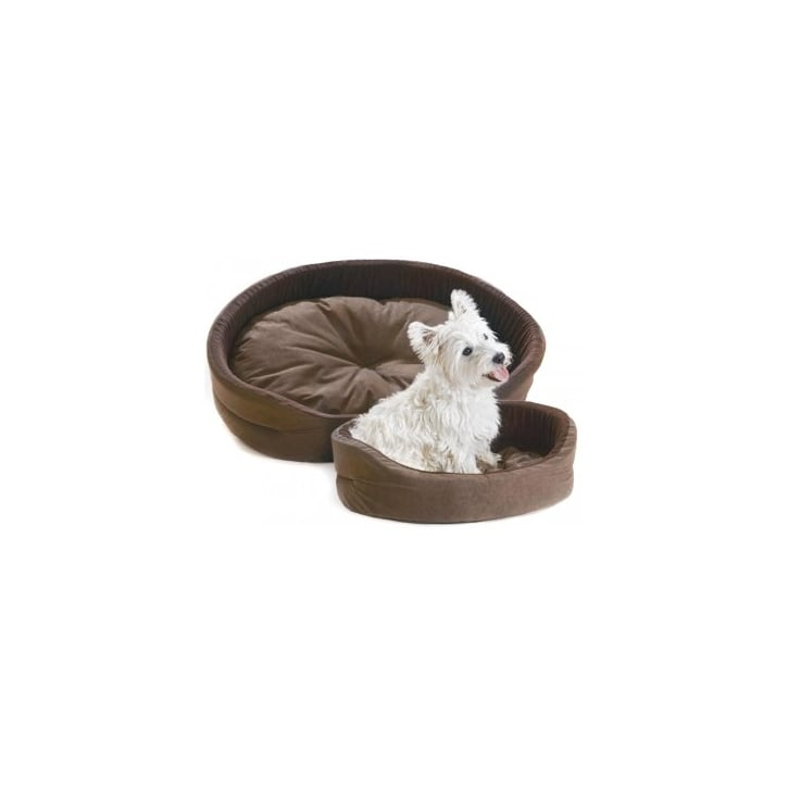 Cosipet Superbed Chelsea Chocolate Dog Bed 26