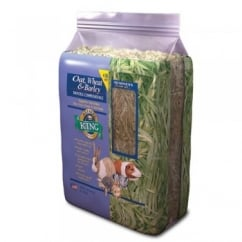 Alfalfa King Oat, Wheat & Barley Hay for Small Animals 1.8kg bale