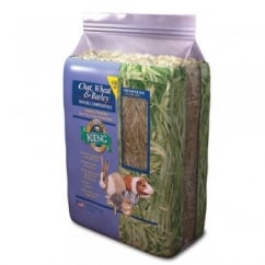 Alfalfa King Oat, Wheat & Barley Hay for Small Animals 4.5kg bale