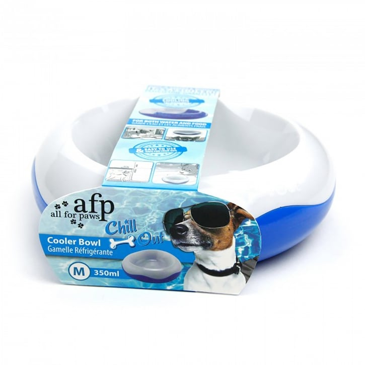 All For Paws Chill Out Cooler Medium Dog Bowl