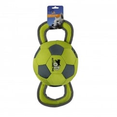 All For Paws Soft Handle Soccer Ball Play Dog Toy