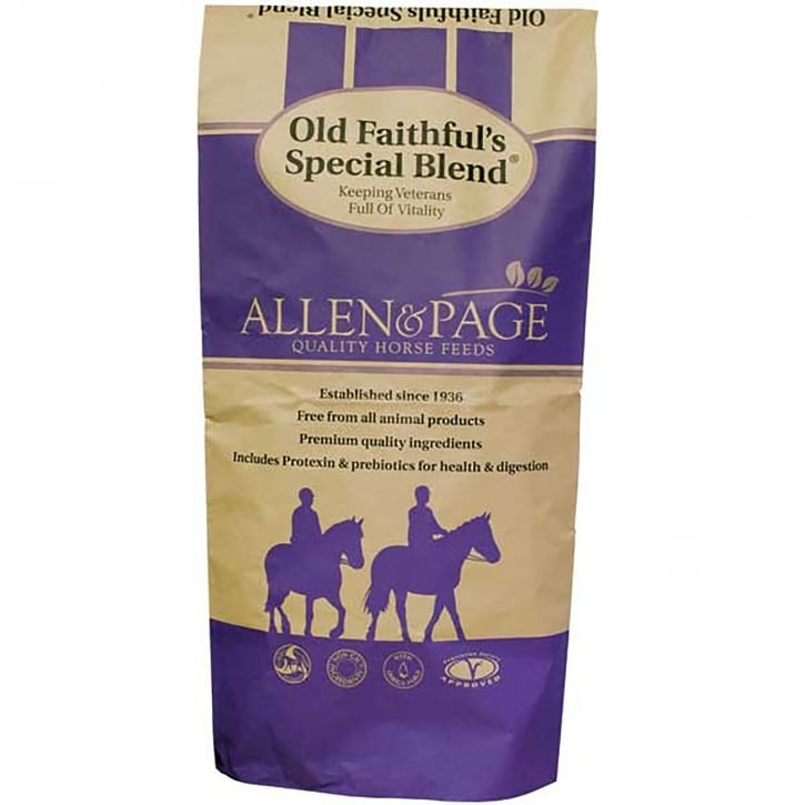 Allen & Page Old Faithful Special Blend Horse Feed 20kg