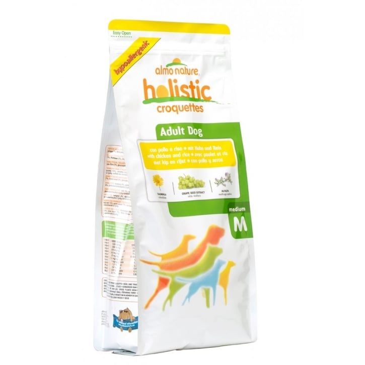 Almo Nature Holistic Dog Medium Chicken & Rice 12kg