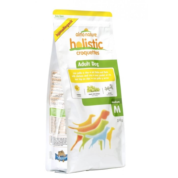 Almo Nature Holistic Dog Medium Chicken & Rice 2kg