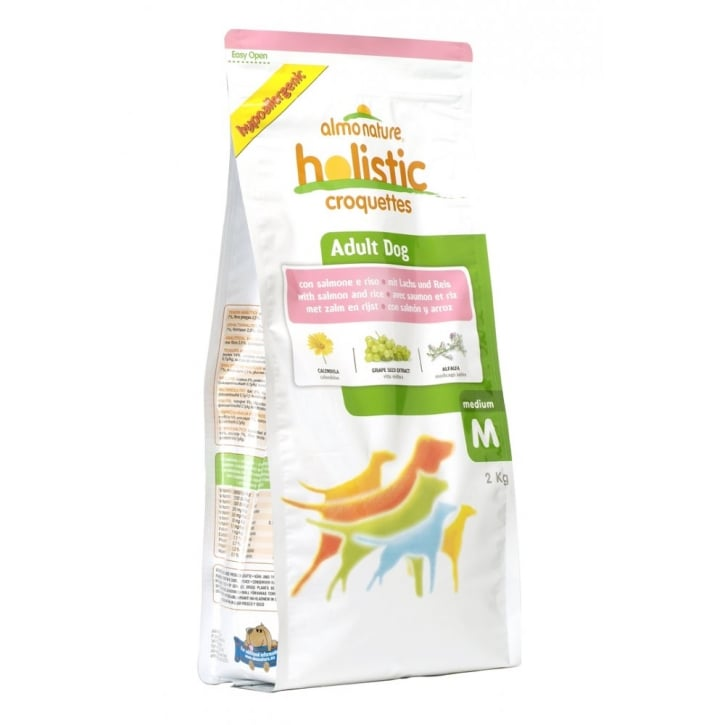 Almo Nature Holistic Dog Medium Salmon & Rice 2kg