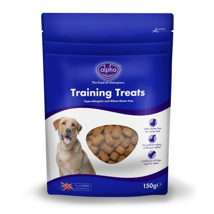 Alpha Training Dog Treat With Chicken & Liver 150g