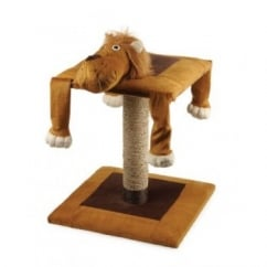 Acticat Lazy Scratch Post Lion 56cm