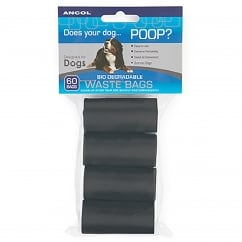 Bio-degradable Dog Waste Bags 60 Bag Refill