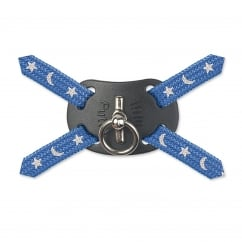 Cat Harness Fig 8 Anti-snag With Lead - Blue