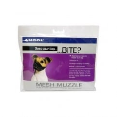 Ancol Does Your Dog Bite Mesh Muzzle Size 5