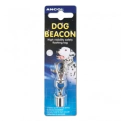 Ancol Dog Beacon Flashing Dog Collar Light