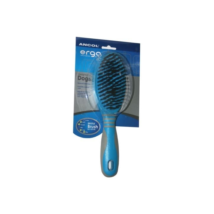 Ancol Ergo Dog Grooming Bristle Brush