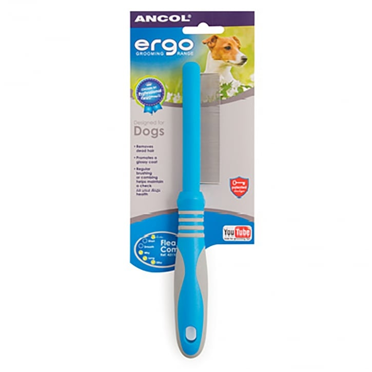 Ancol Ergo Flea Comb For Cats And Dogs