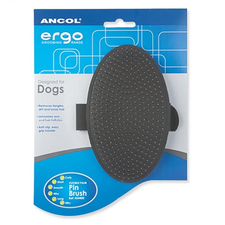 Ancol Ergo Grooming Palm Pin Pad