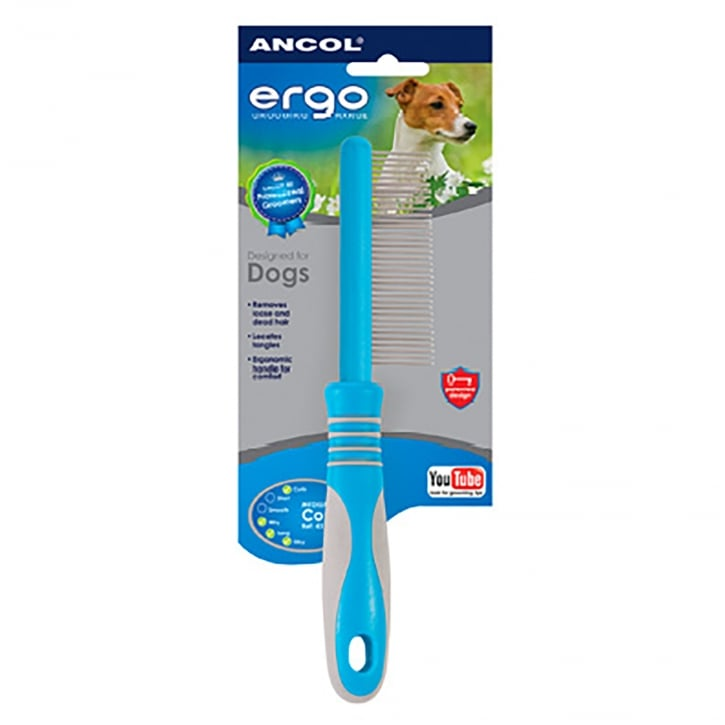 Ancol Ergo Universal Dog Comb - Medium