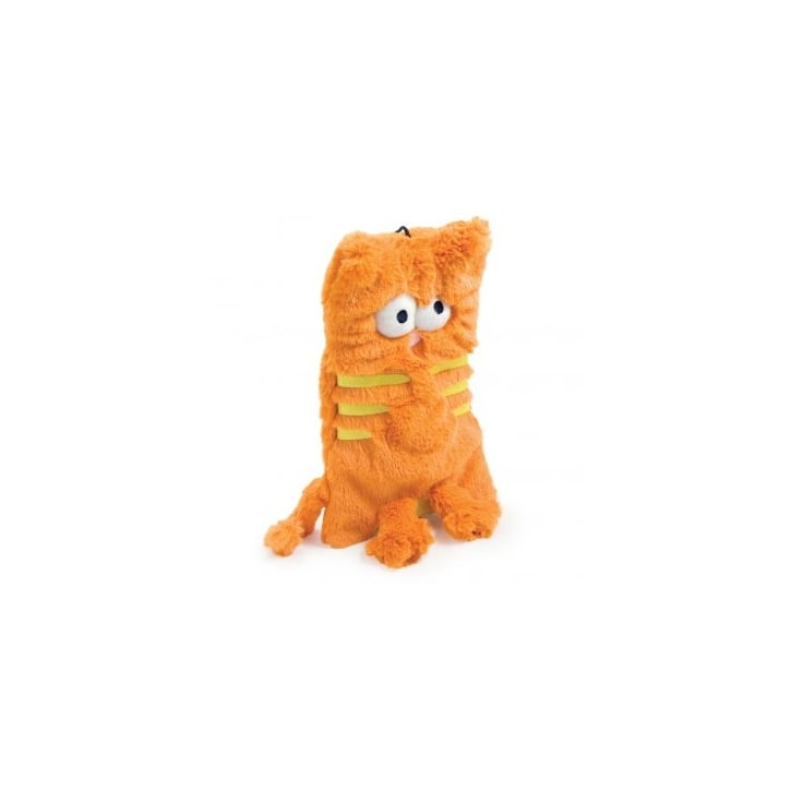 Ancol Flat Cats Unfilled Dog Toy