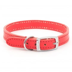 Heritage Leather Dog Collar