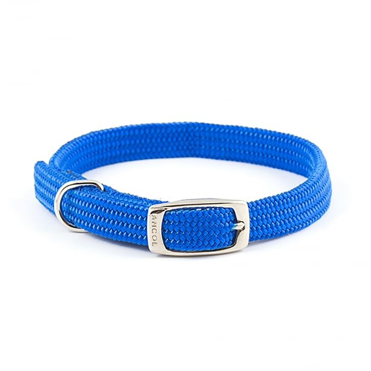 Ancol Heritage Nylon Softweave Dog Collar Blue 16