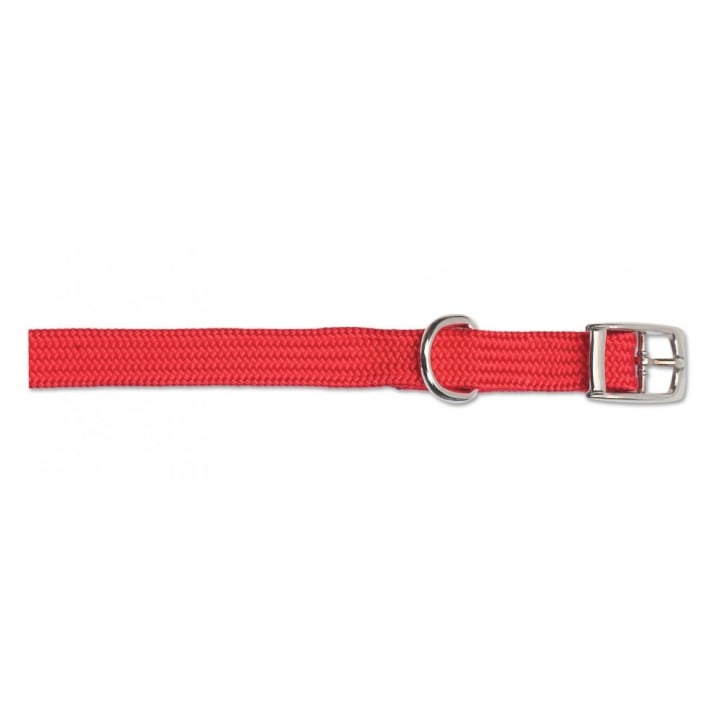 Ancol Heritage Nylon Softweave Dog Collar Red 12