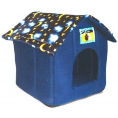 Ancol Just 4 Pets House Bed For Cat, Small Dog, Rabbit Moon & Stars