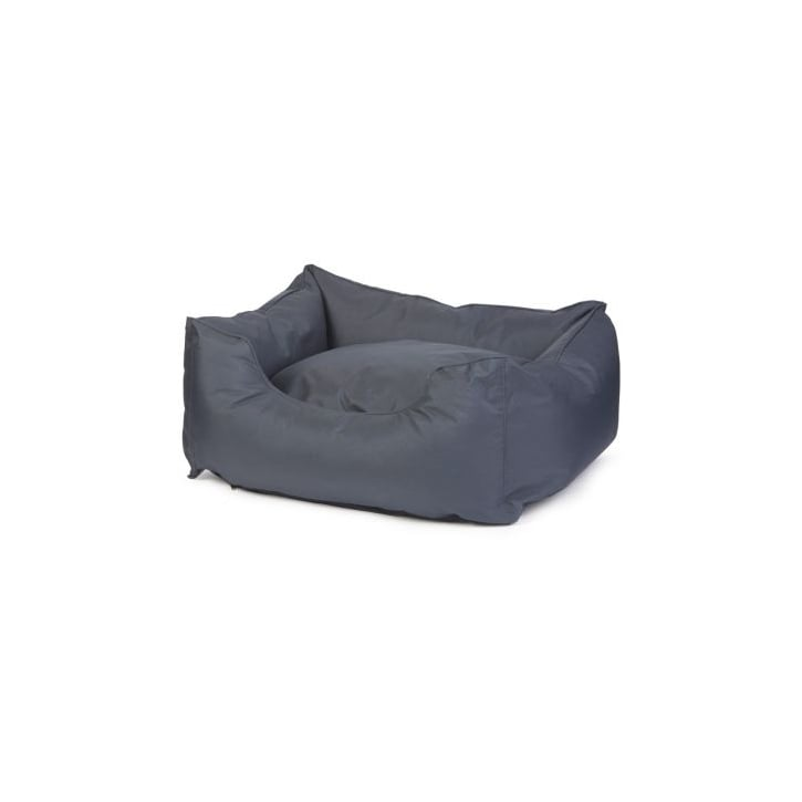 Ancol Large Navy Waterproof Domino Dog Bed - 78cm X 90cm