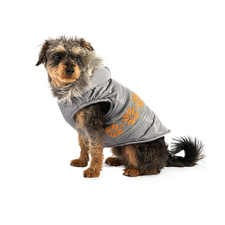 Ancol Muddy Paws Nordic Dog Coat Grey X-Large